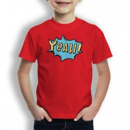 Camiseta Comic Yeah para niños