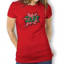 Camiseta Comic Zap para Mujer