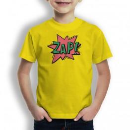 Camiseta Comic Zap para niños