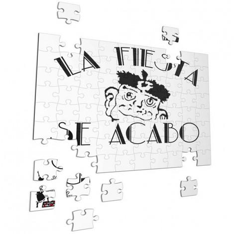Puzzle La Fiesta se acabo