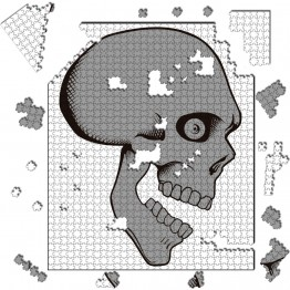 Puzzle Calavera Cartoon