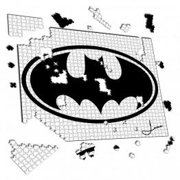 Puzzle Murcielago con circulo
