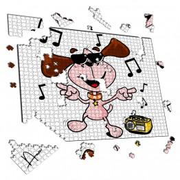 Puzzle Perro Bailarin