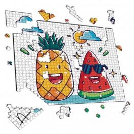 Puzzle Piña y Sandia