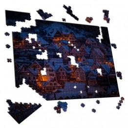 Puzzle Pueblo Nocturno
