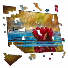 Puzzle flor Relax