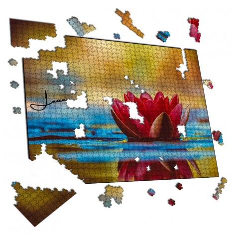 Puzzle flor Relax