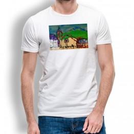 Camiseta Roncesvalles Oteiza para hombre