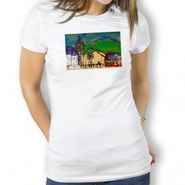 Roncesvalles Oteiza Camiseta dE MUJER