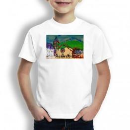 Roncesvalles Oteiza Camiseta de NIÑOS