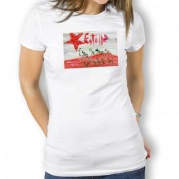 Peregrinos Por Estella Oteiza Camiseta de Mujer