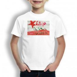 Peregrinos Por Estella Oteiza Camiseta de niños