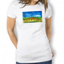 Puente la Reina Verde Oteiza Camiseta de mujer