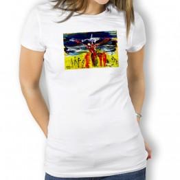 Dinos Oteiza Camiseta para mujer