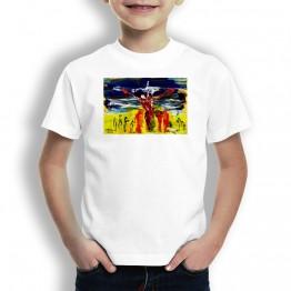 Dinos Oteiza Camiseta paRA NIÑOS