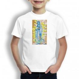 Virgen de Guadalupe Oteiza Camiseta para niños