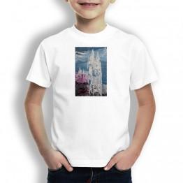 Catedral de Burgos Oteiza Camiseta de niños