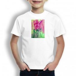 Estrella Roseverde Oteiza Camiseta para niños