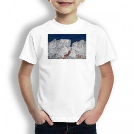 Montes de Oca Oteiza Camiseta para niños