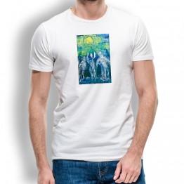 Jubilo Peregrinos Oteiza Camiseta para hombre