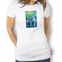 Jubilo Peregrinos Oteiza Camiseta para mujer