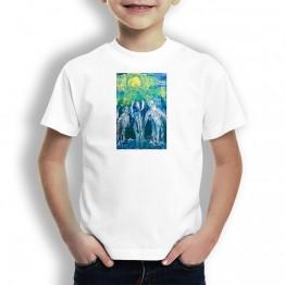 Jubilo Peregrinos Oteiza Camiseta para niños