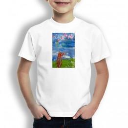 Naturaleza Oteiza Camiseta para niños