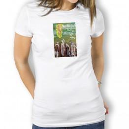 Peregrinos a Santiago Oteiza Camiseta para mujer