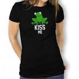 camiseta kiss me mujer