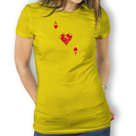 camiseta As de Corazones  mujer