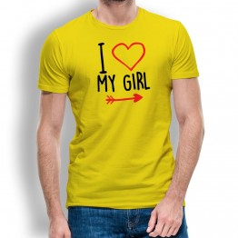 camiseta my girl hombre