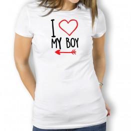 camiseta my boy mujer