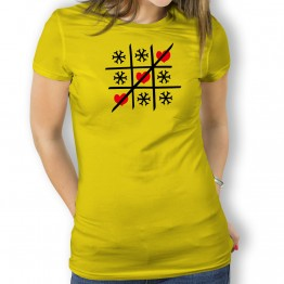 camiseta Tres en Raya mujer