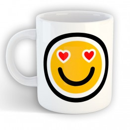 Taza Emoti Love