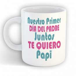 Dia del Padre Juntos Taza de Ceramica