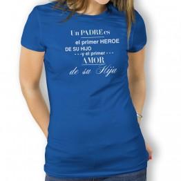 Camiseta Heroe y Amor para mujer