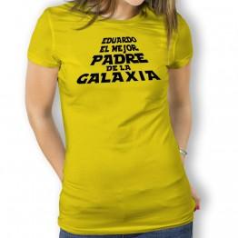 Camiseta Padre de la Galaxia para mujer