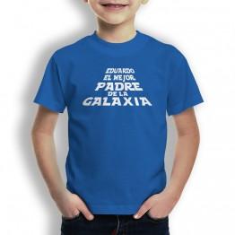 Camiseta Padre de la Galaxia para niños