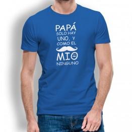 Camiseta Padre Solo Hay Uno para Hombre