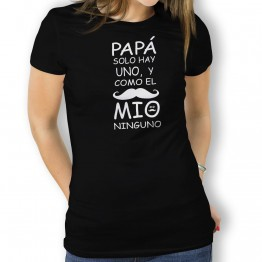 Camiseta Padre Solo Hay Uno para mujer