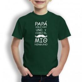 Camiseta Padre Solo Hay Uno para niños