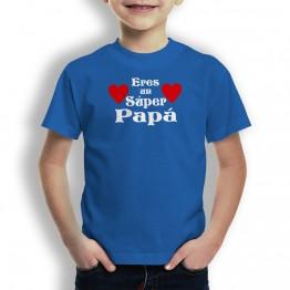 Camiseta Un Super Papá para niños