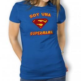Camiseta Supermamá mujer