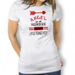 Camiseta Hombre Perfecto mujer