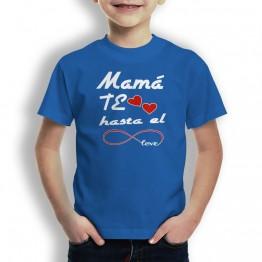 Camiseta Mamá Te Quiero para niños