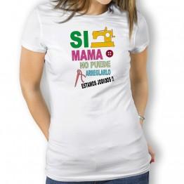 Camiseta si mama no puede para mujer