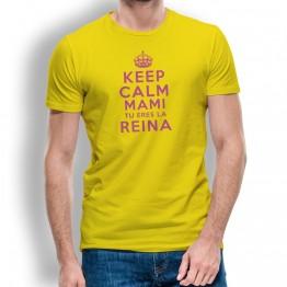 Camiseta Keep Calm Mami para hombre