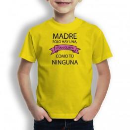 camiseta Madre Tan Guapa para niños
