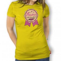 Camiseta Mamá Increible para mujer
