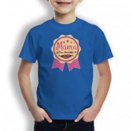 Camiseta Mamá Increible para niños